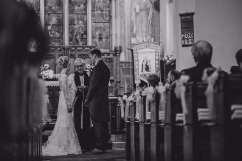 Black and white - wedding vows
