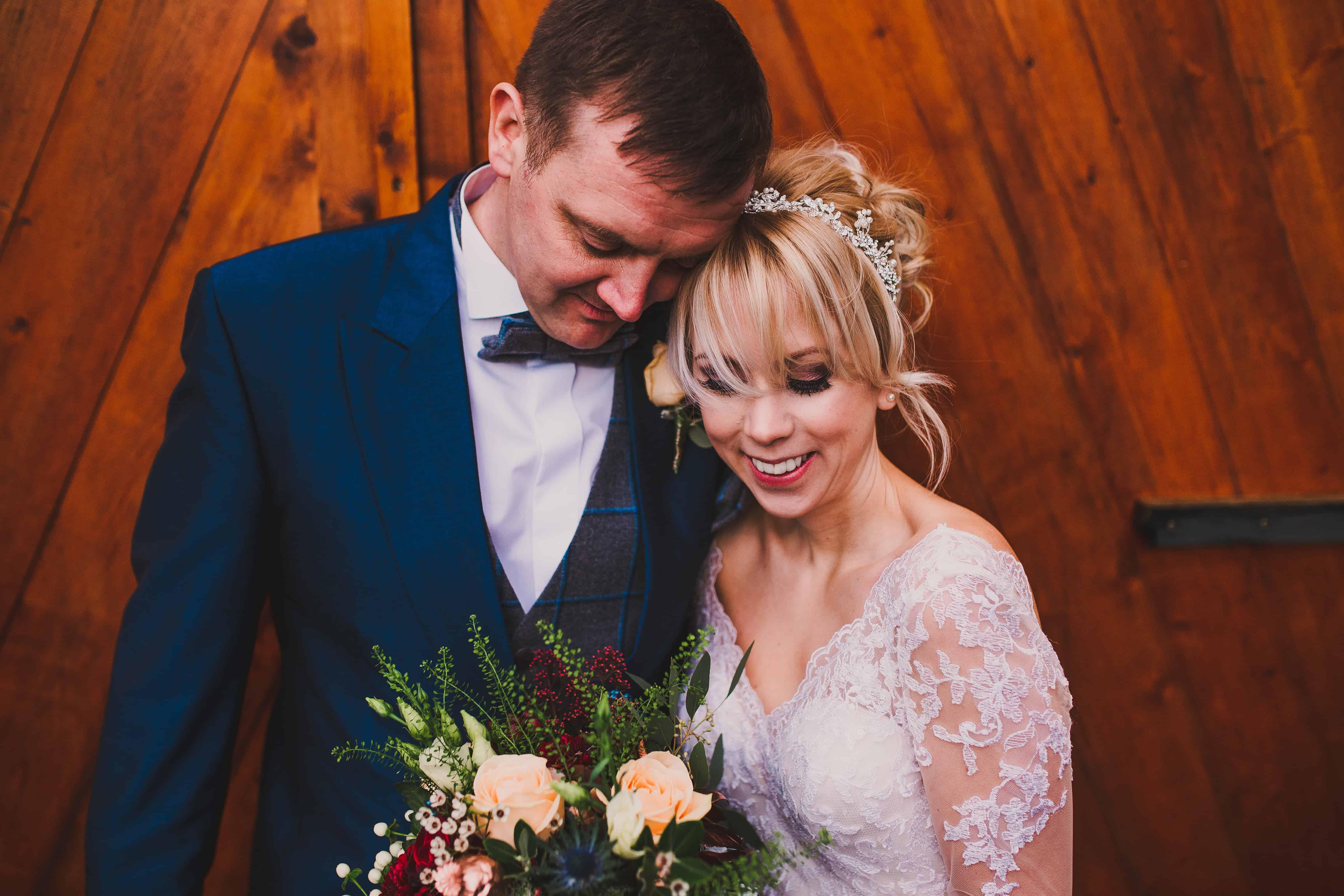 Jenny & Alan wedding day flowers