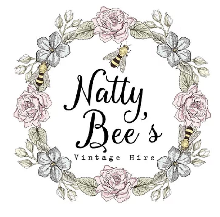 Natty Bee's Vintage Hire logo