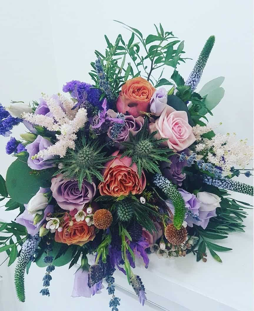 Jacki's Brides bouquet
