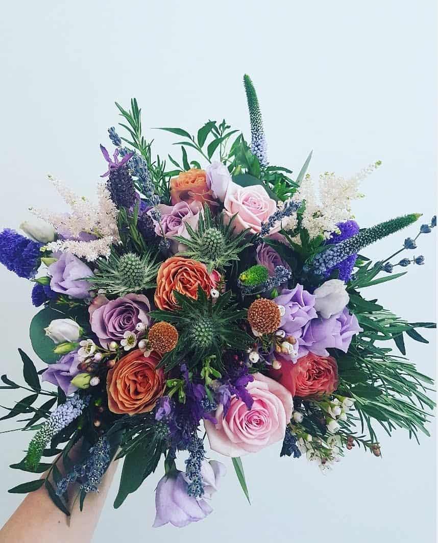 Jacki's Brides bouquet